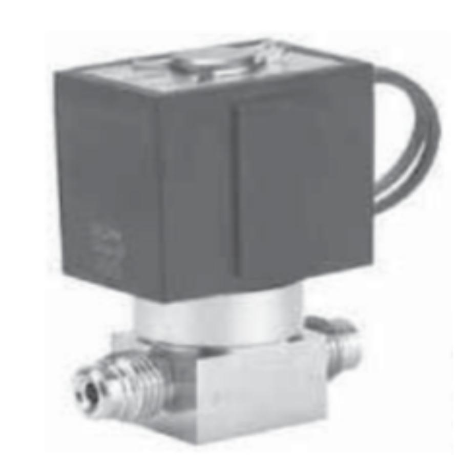 XSA1-12V-5G  Клапан для напуска чистых газов, 1/4B Swagelok, 24 VDC