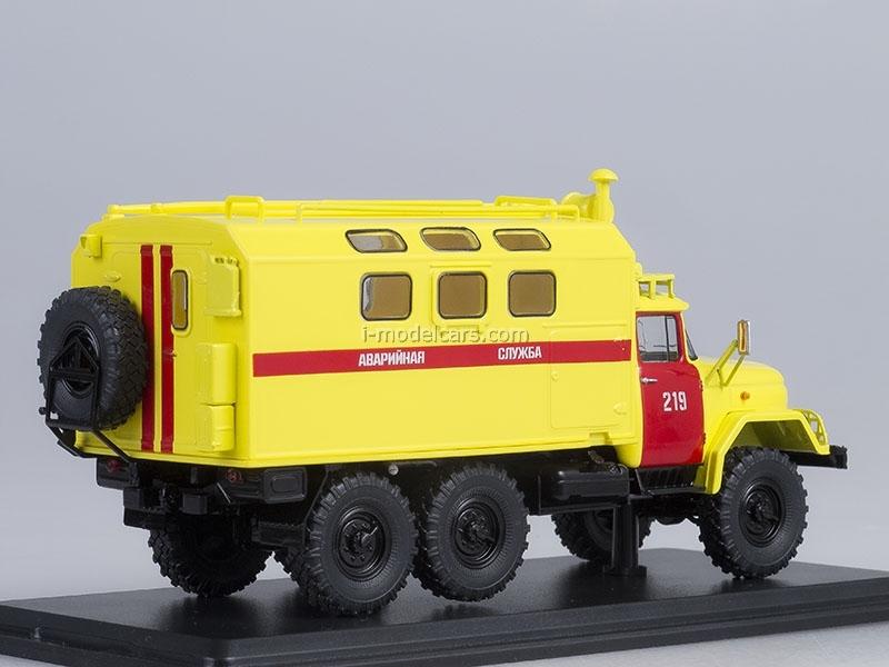 ZIL-131 KUNG Emergency Service 1:43 Start Scale Models (SSM)