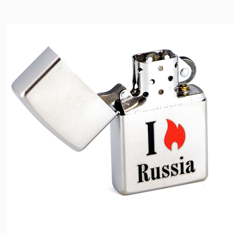 Зажигалка Zippo №205 Flame Russia