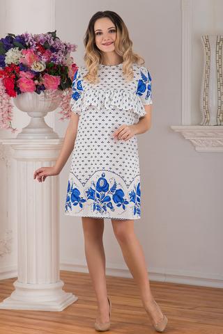 Платье Забава льняное