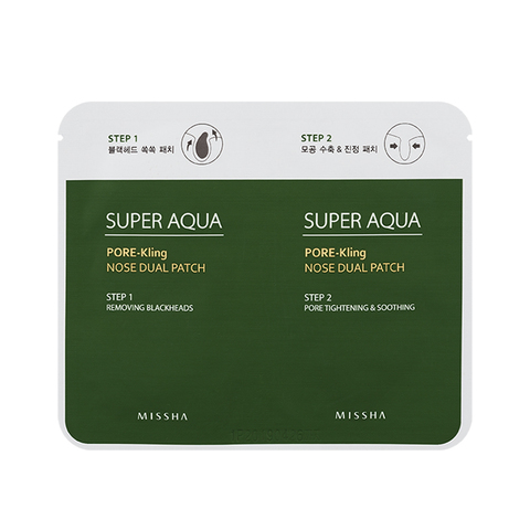 MISSHA Super Aqua Pore-Kling Nose Dual Patch