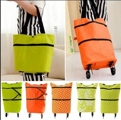 <p>Удобная и вместительная сумка тележка хозяйственная складная - в...