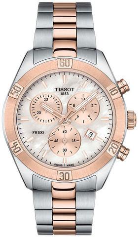 Купить Женские часы Tissot T101.917.22.151.00 PR 100 Sport Chic по доступной цене