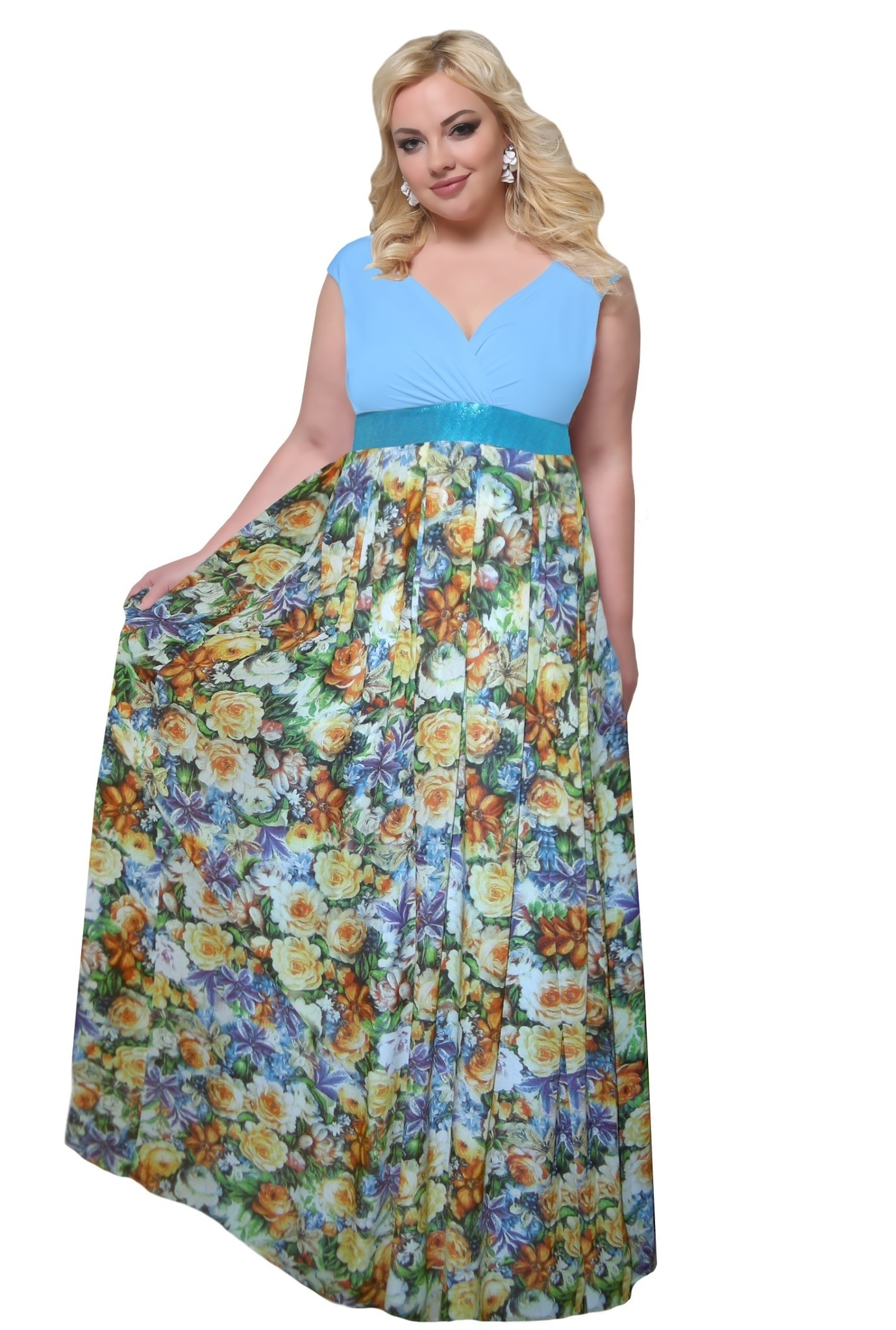 Платье 17-205