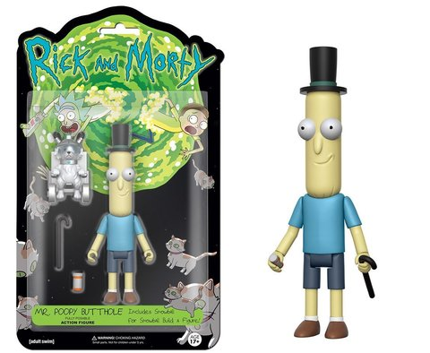 Фигурка Funko Action Figure: Rick  Morty: Poopy Butthole 12926