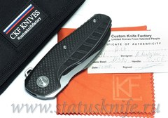 Нож CKF Aich (Малышев, M390, Ti, CF)
