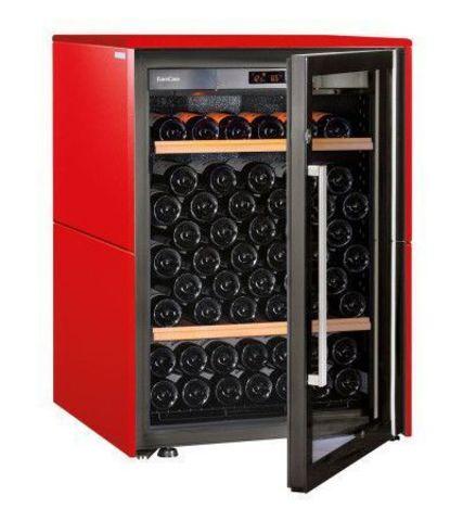 Винный шкаф EuroCave V Collection S красный сатин, стандартная комплектация
