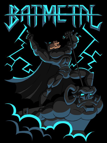 Футболка Batmetal - Batman - XXL