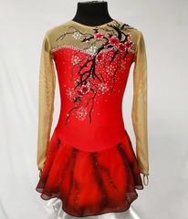 Платье для фигурного катания для выступления