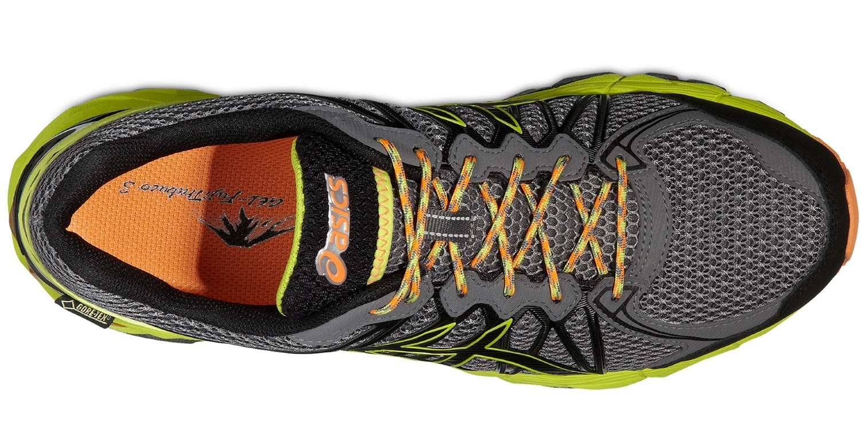 Мужские кроссовки внедорожники Asics Gel-Fujitrabuco 3 Neutral G-TX (T4F0N 9790) черные фото
