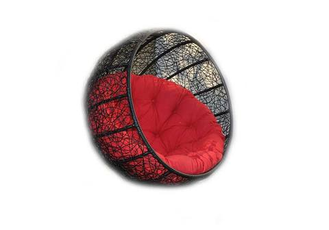 Корзина для подвесного кресла из ротанга Ола