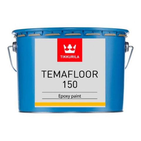 Тиккурила Темафлор 150 краска эпоксидная двухкомпонентная для окраски наружных и внутренних бетонных полов
