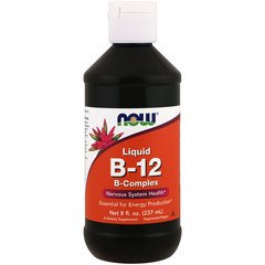Now B-12 LIQUID B-COMPLEX (237 ml.)