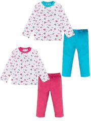 37259-3 пижама детская, белая