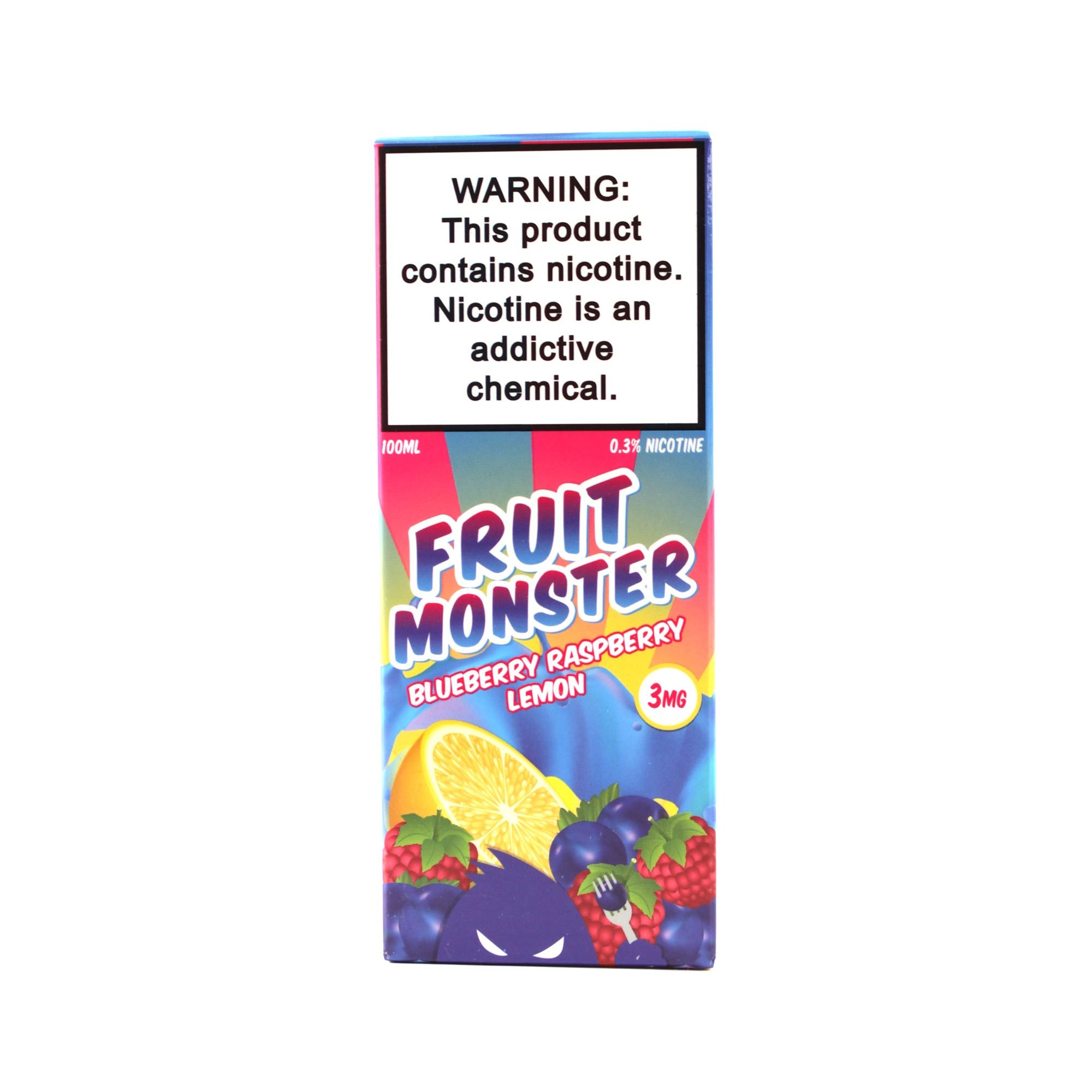 Жидкость FRUIT MONSTER Blueberry Raspberry Lemon