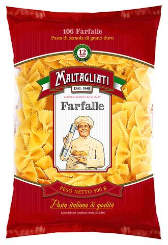 Макаронные изделия Maltagliati №106 Бантики 500 г