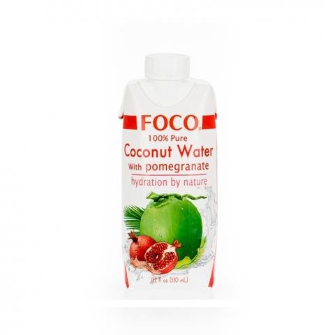 Кокосовая вода с соком граната FOCO 330 мл Tetra Pak