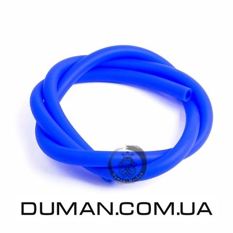 Cиликоновый шланг Soft Touch (Софт Тач) синий для кальяна