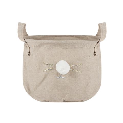 Корзина текстильная Meow Beige