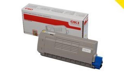 OKI TONER-W-Pro711WT-6K - Тонер белый для принтера C711WT  Ресурс 6000 страниц  Не может использоваться в принтере C711 (только для версии WT!) (код 44318657)