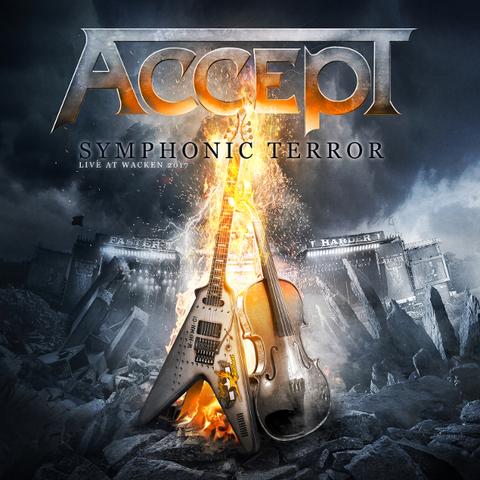 Accept / Symphonic Terror Live At Wacken (RU)(2CD+DVD)