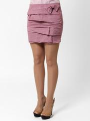 5204-1 юбка сиреневая