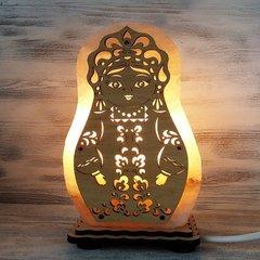 Солевая лампа Матрешка 1,5-2 кг