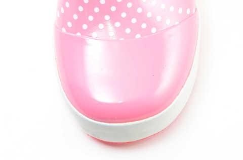 Резиновые сапоги для девочек утепленные Хелло Китти (Hello Kitty), цвет розовый. Изображение 10 из 11.