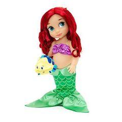 Кукла Малышка Ариэль 40 см. Перевыпуск 2017 г. - Русалочка, Disney Animators' Collection