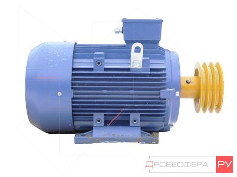 Электродвигатель со шкивом С416М