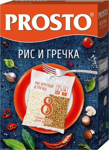 """Ассорти рис и греча """"PROSTO"""" 500гр"""