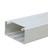 Кабельный канал с крышкой  100х50х2000мм (белый) 100001S (L30038)