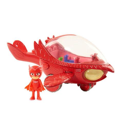 Игровой набор Алет (Owlette) и Совалёт со звуковыми и световыми эффектами - Герои в Масках, Just Play