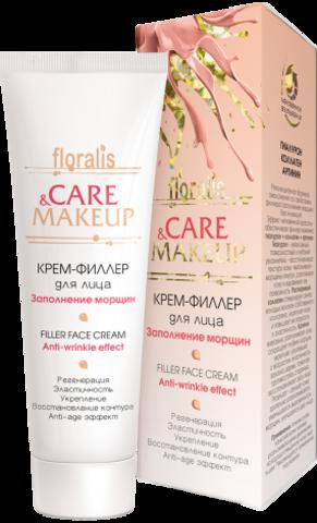 Floralis Care&Makeup Крем-филлер для лица заполнение морщин 50г