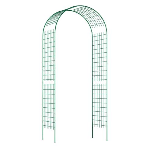 Арка прямая широкая решетка