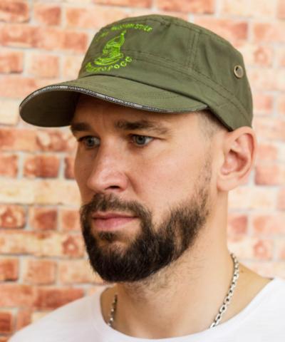 Кепка Донская зелёный хаки «Весенний призыв»