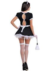 Эффектный костюм домработницы для взрослых ролевых сексуальных игр