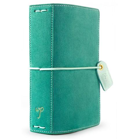 Блокнот Color Crush Pocket Traveler's Planner   -Aspen Green Suede