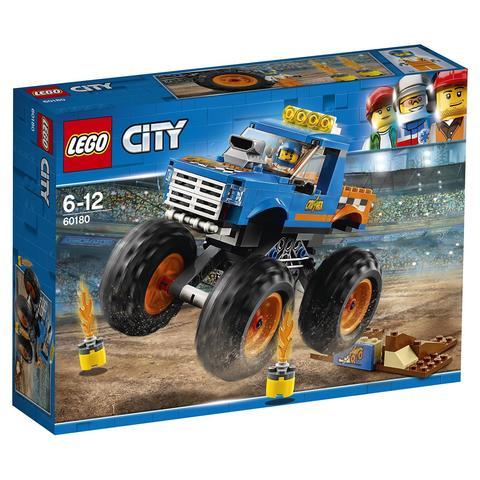 LEGO City: Монстр-трак 60180 — Monster Truck — Лего Сити Город