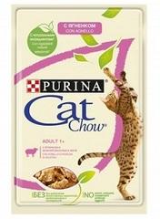 Purina Cat Chow пауч ( с ягненком в желе)