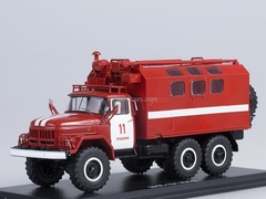 ZIL-131 KUNG Fire Engine 1:43 Start Scale Models (SSM)