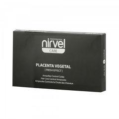 Ампулы против выпадения волос  с плацентой при жирной кожи головы Reconstituted Plant Placenta Fresh Effect