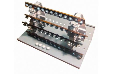 Распределительный блок РБ-400 4П 400А (4 шины 10xM6+1хM8) TDM