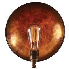 Настенный светильник Industrial Round Dish