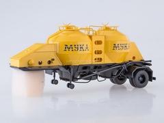 Semitrailer flour carrier K4-AMG 1:43 AutoHistory