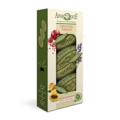 Набор оливкового мыла Бодрящие ароматы 3 шт