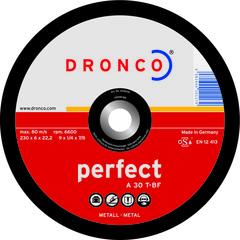 Шлифовальный диск Dronco A30T 180x6