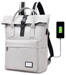 Сумка-рюкзак DX535 USB Светло-серый