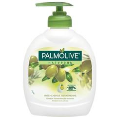Мыло жидкое PALMOLIVE 300мл Олива+увлажняющее молочко с дозатором