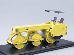 1:43 ДУ-49-Дорожный каток (желтый)